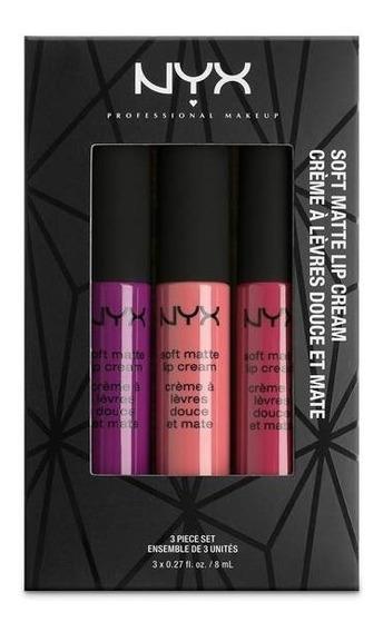 Nyx - Soft Matte Lip Cream - Kit 7