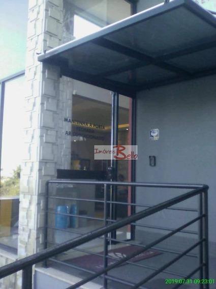 Sala Comercial De 30 M² Com Jardim - Sa0066