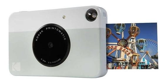 Câmera Digital Instantânea Kodak Printomatic Cinza 27411