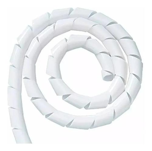 Organizador P/ Fios Cabos Espiral 1/2  - 3/8   12,7mm Br 50m