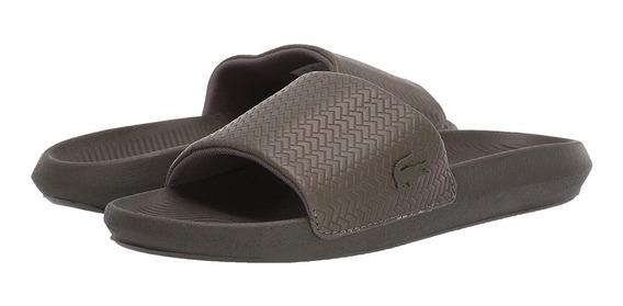 Sandalias Exclusivas Lacoste Croco Slide