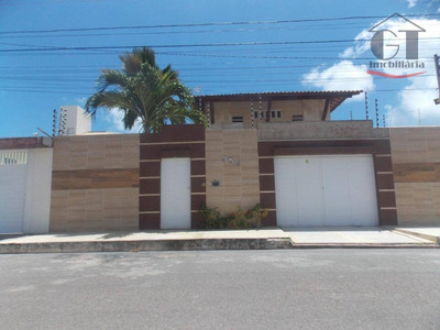 Casa Duplex Com Piscina, 3 Dormitórios, 2 Suites À Venda Por R$ 900.000 - Atalaia - Aracaju/se - Ca0293