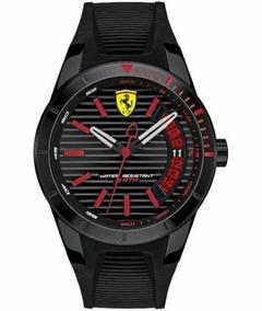 Relógio Ferrari Scuderia Herrenuhr Red Rev. T 0830428