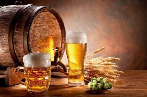 Adesivo Chopp Cerveja Boteco Alta Resolução -117x70 Cm