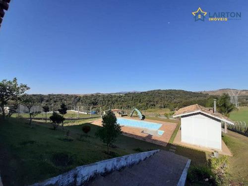 Chácara À Venda, 2600 M² Por R$ 500.000,00 - Jardim Maracanã - Atibaia/sp - Ch0463
