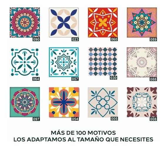 Azulejos Vinilos Decorativos Autoadhesivos 20 X 20 Cm X 12u.