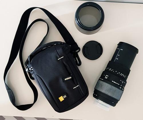 Lente 70-300mm Para Nikon Pouco Uso, Sem Fungos, Com Bolsa.