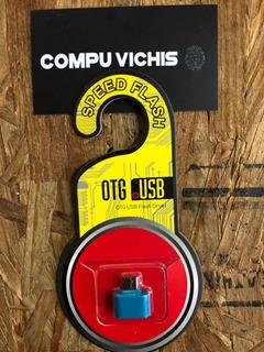 Blister Adaptador Usb Micro Usb Hembra Otg V8 Empaque