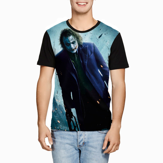 Camiseta Joker Batman The Dark Knight Coringa