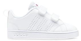 Tenis adidas Vs Adv Cl Cmf Inf Blanco Niña 2672007 Ly3
