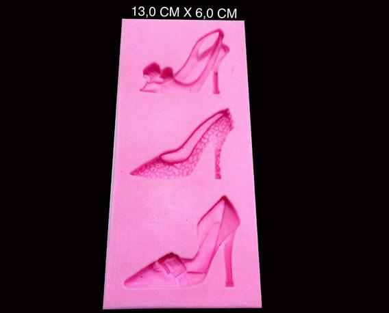 Molde Silicone Sapato Feminino Luxo