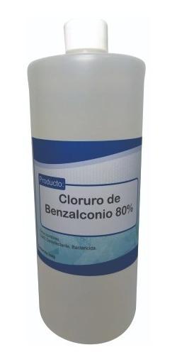 Cloruro De Benzalconio Puro Al 80%. 250 Ml