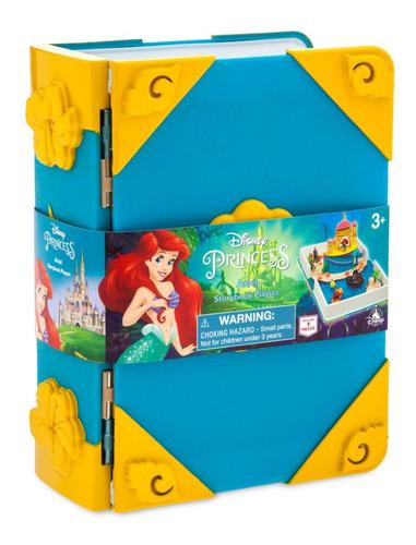 La Sirenita Disney Story Book Play Set Nuevo Mermaid