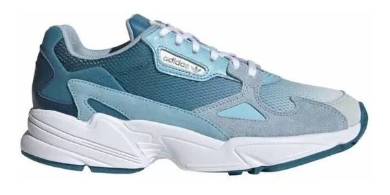 adidas Falcon W Blue- Light Agua Originals X Pedido