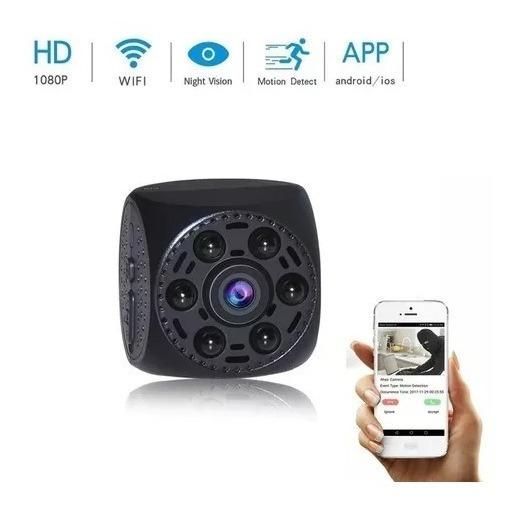 Câmera Espiã Wifi Monitoramento Visão Noturna A Melhor
