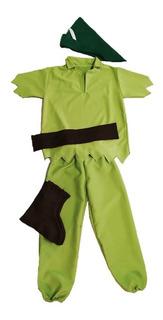 Disfraz Peter Pan Premium Halloween Cotillón Activarte