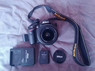 Cámara Digital Nikon D3200 Profesional
