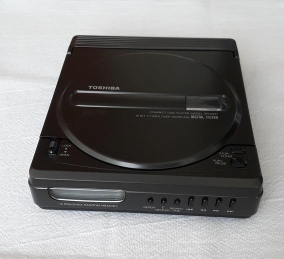 Aparelho Cd Player Portátil Toshiba Xr-9421 - No Estado