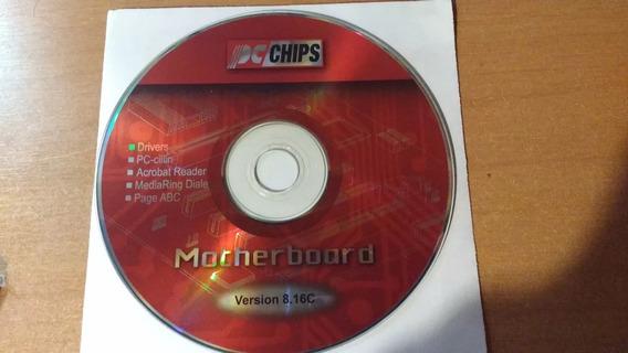 Cd Placa Mãe Drivers Pc-chips Para Amd