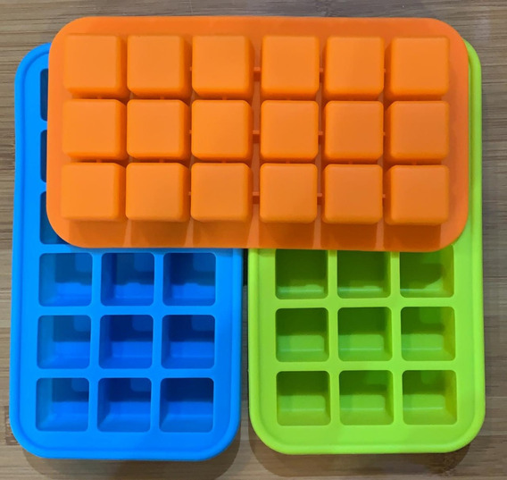 Cubetera De Silicona Excelente Calidad Cubos