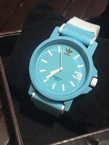 Relógio adidas 7012 Azul Com Branco