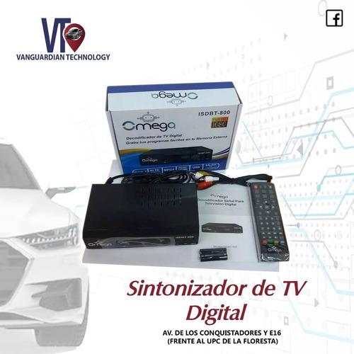 Sintonizador Tv Digital Hd Grabador Isdbt