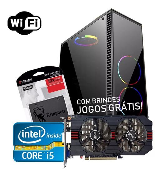Computador Gamer Pc Gamer I5 Placa De Video Pc Gamer Barato
