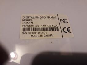 Porta Retrato Digital Modelo Photo Frame Ik09pi