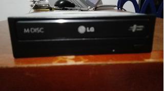 Unidad Lite-on 24x Sata Interno Pc Dvd +/- Rw Óptica Usada