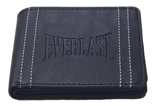 Billetera Everlast 26205 negra cuero sintético