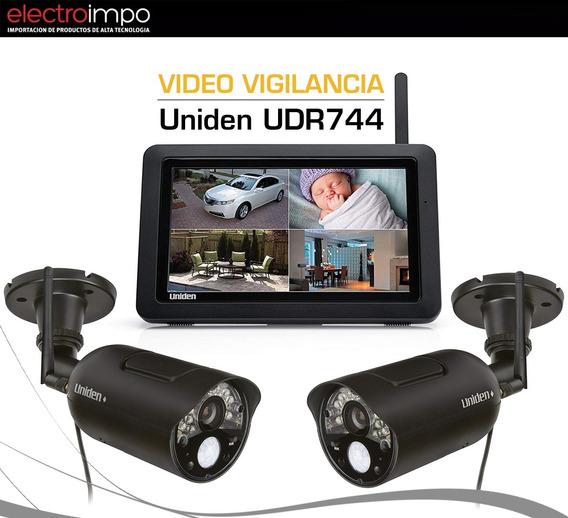 Cámara De Seguridad Inalambrica Por 2u+ Tablet Uniden Udr744