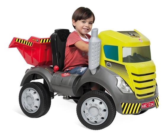 Mini Caminhão Brutus Com Pedal - Bandeirante