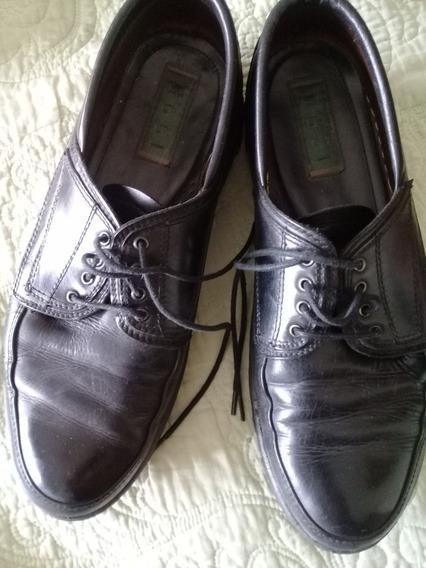 Zapatos Oggi Con Suela Goma Febo - Interno 30.5cm.suela 31.5