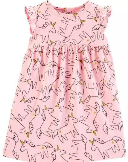 Carters Vestido Unicórnio Meninas