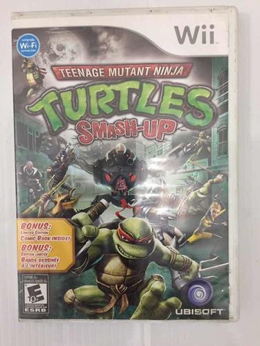 Teenage Mutant Ninja Turtles Smash-up Nintendo Wii