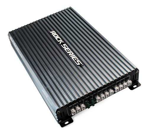 Imagen 1 de 6 de Amplificador 4 Canales Rock Series 2400 Watts