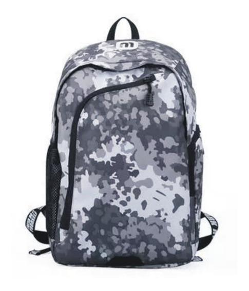 Mochila Notebook Camuflada Impermeable Mark Ryden Unisex