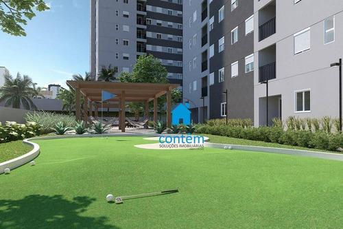 Ap2123 - Condomínio Viva Clube Carapicuíba Apartamento Com 2 Dormitórios À Venda, 46 M² Por R$ 200.265 - Jardim Santo Estêvão - Carapicuíba/sp - Ap2123