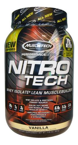 Nitrotech  2lbs Muscletech Con Registro Invima