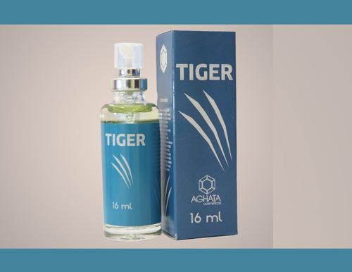Imagem 1 de 2 de Tiger (masculino) 16 Ml, Fixação Intensa Acima De 20 Horas