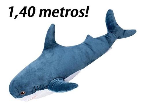 Tubarão Peixe Pelúcia Gigante 1,40 Metros Dia Dos Namorados
