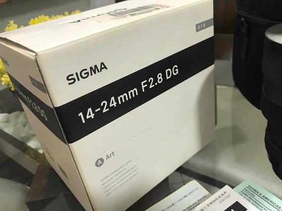 Sigma Art 14-24mm F2.8 (canon)