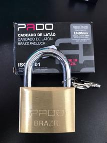 Cadeado De Latão Lt-60mm - Pado - Cod: 2588