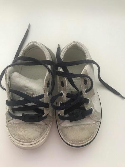 Zapatillas Crocs Unisex Blancas Talle 26 Cuerina Jardín