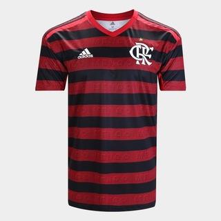 Camisa Do Flamengo Oficial Vermelha E Preta