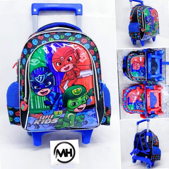 Mochila Rodinha Escolar Infantil Tam Pequena Super Kids