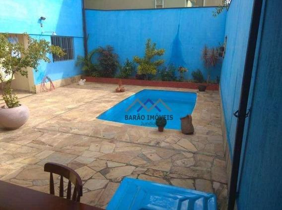 Casa À Venda, 249 M² Por R$ 520.000,00 - Jardim Laura - Campo Limpo Paulista/sp - Ca0394