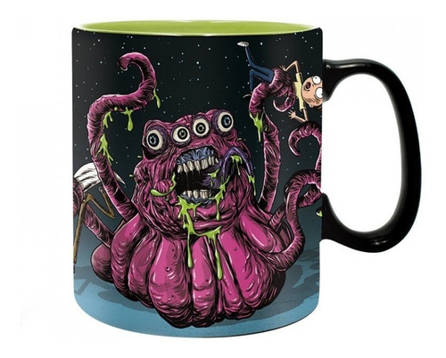 Taza Monsters Rick And Morty