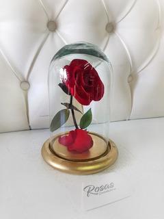 Rosa Encantada Eterna La Bella Y La Bestia Edición Mini