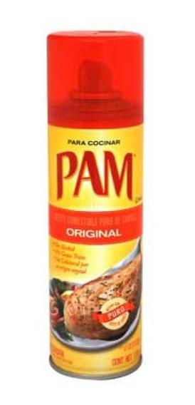 Aceite Pam Original En Aerosol 170 G Caja Con 6 Pzas